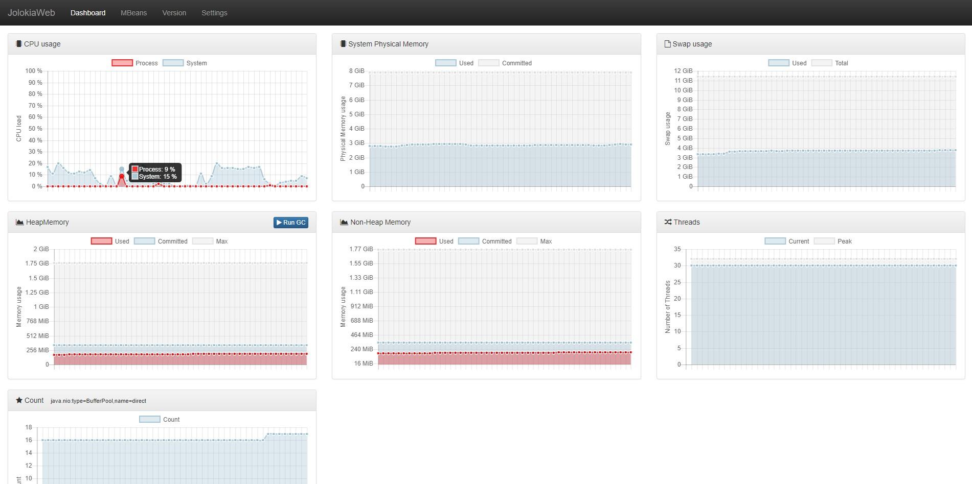 GitHub - wwfdoink/jolokia-web: JVM monitoring tool using Jolokia