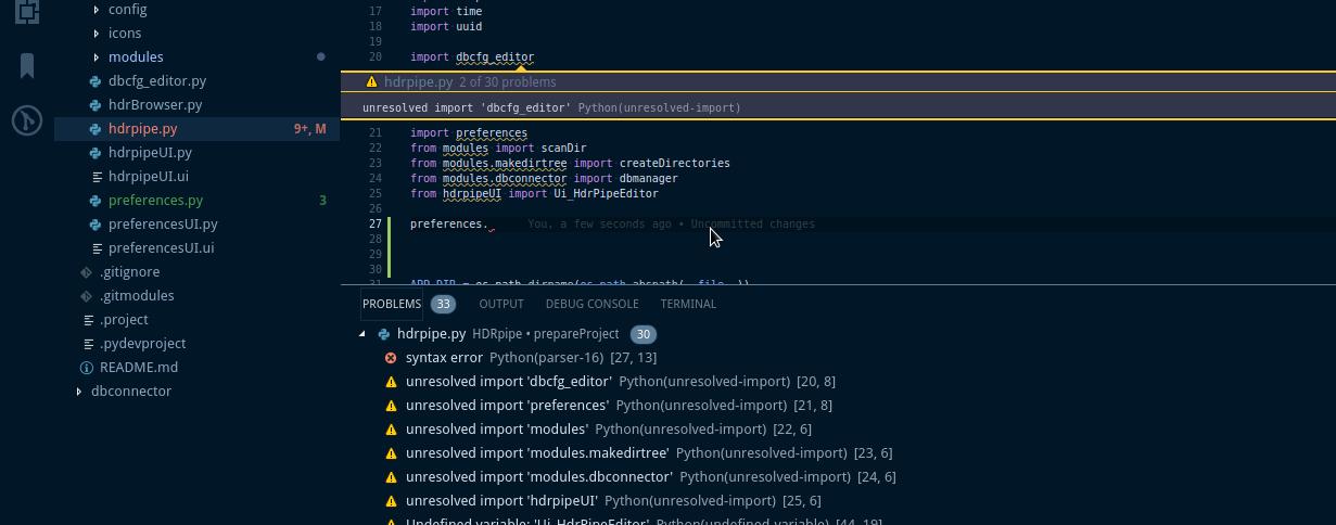 unresolved imports · Issue #1085 · microsoft/python-language