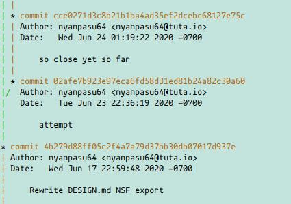 git log single file