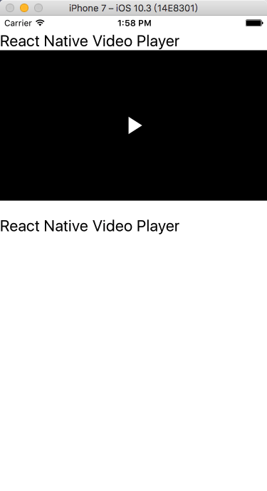 react-native-video-player - Bountysource