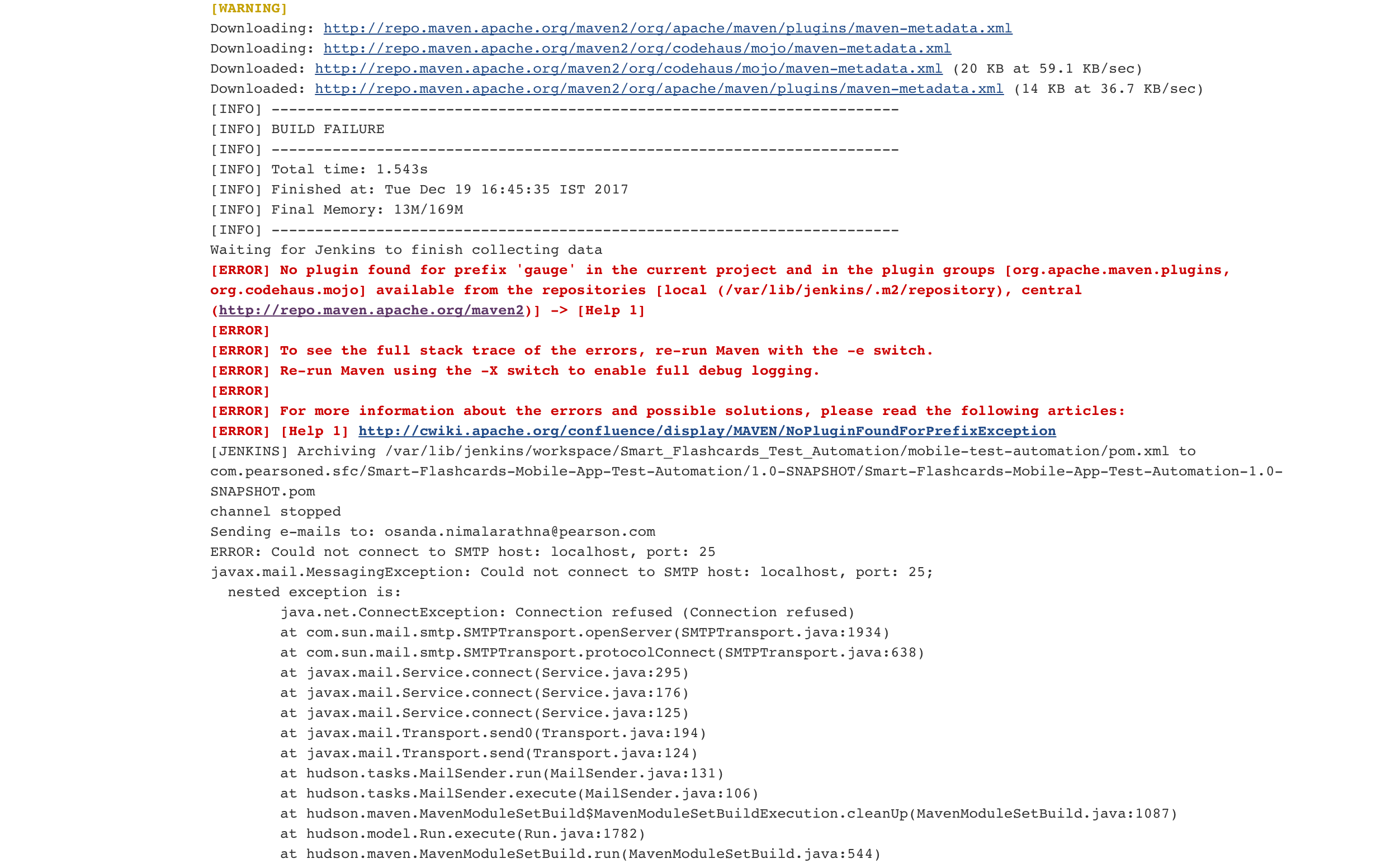 Cannot be integrated with Jenkins · Issue #121 · getgauge
