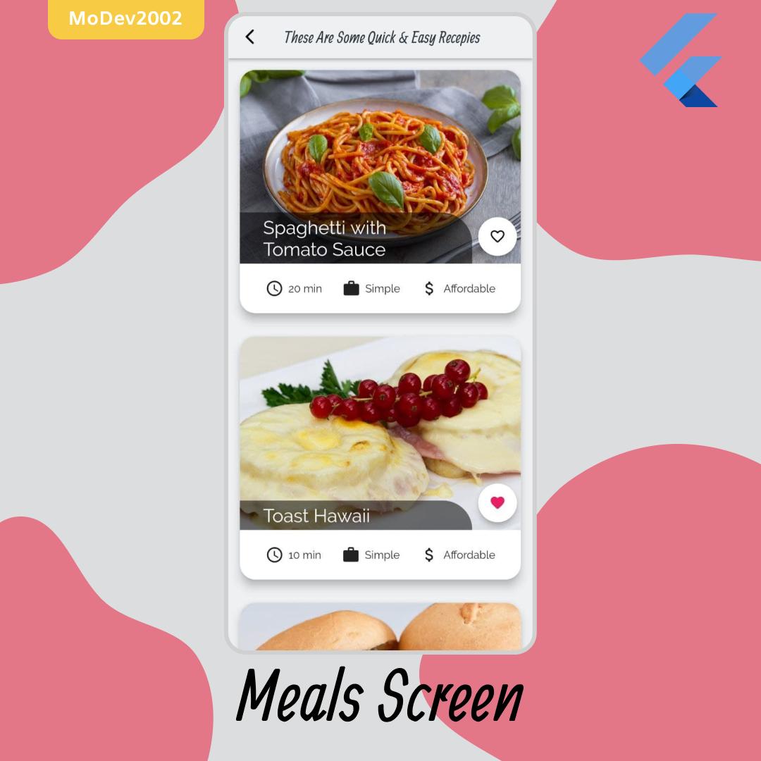meals app- github 4