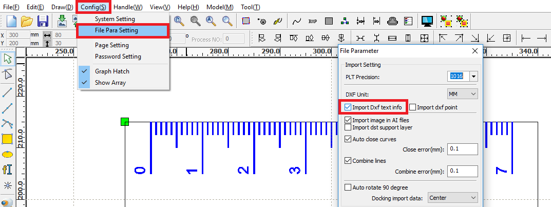 GitHub - umluizlima/dxf-ruler-generator: Quickly create