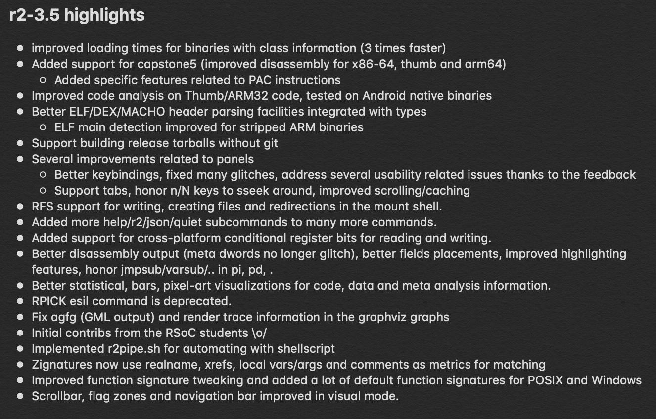 Releases · radare/radare2 · GitHub