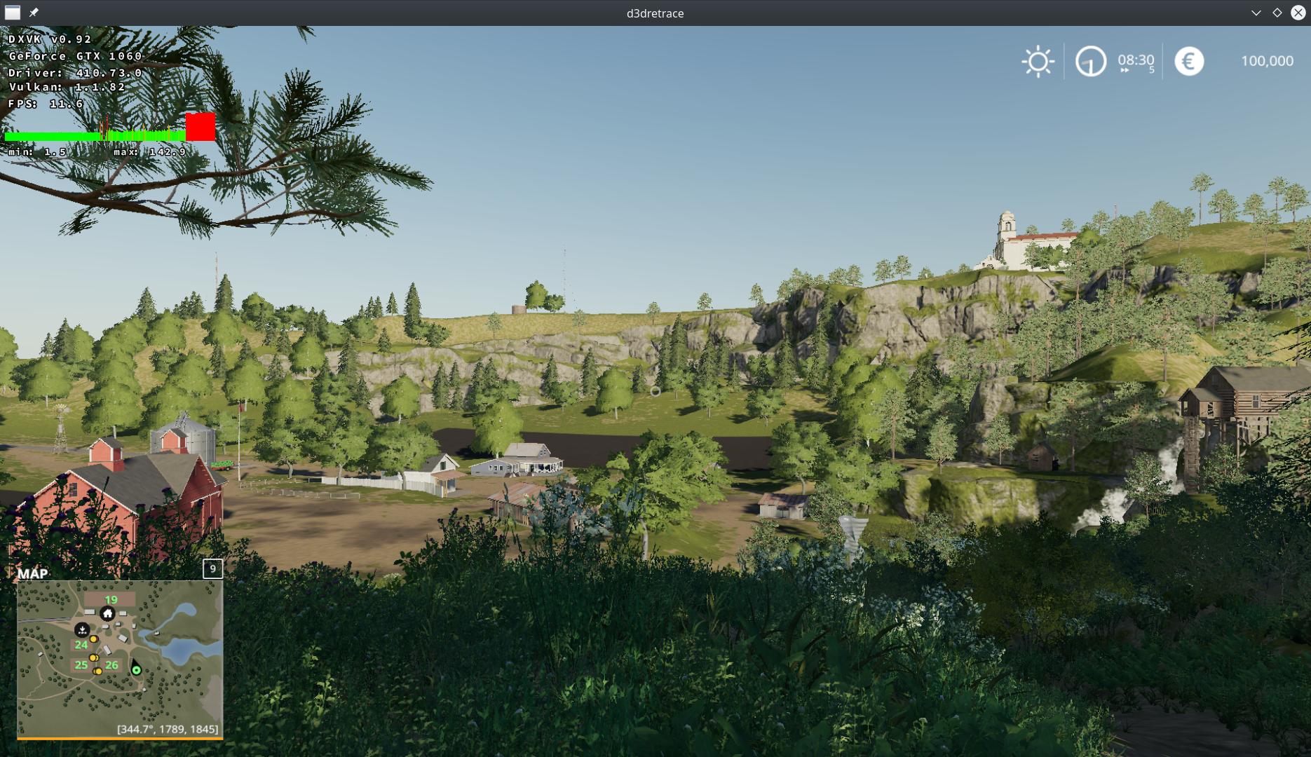 Farming Simulator 19 black screen with nvidia (optimus