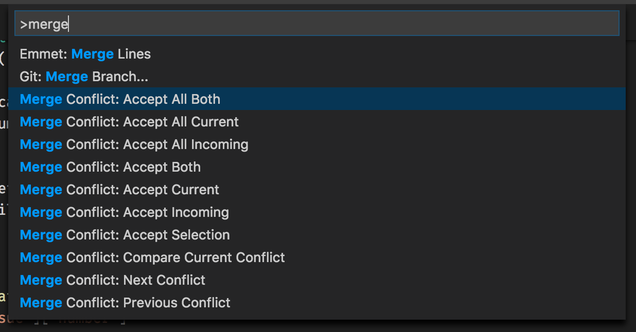Feature Request: Accept all of one sort of change in the