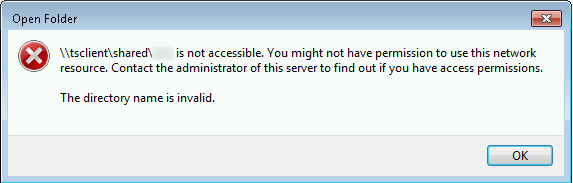 Share access error · Issue #4793 · FreeRDP/FreeRDP · GitHub