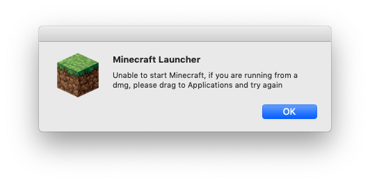minecraft works only for user who installed it · Issue