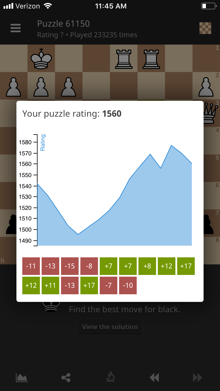 Puzzle progress not synced between web app and iphone app