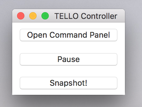 Tello_Video main py does not render video feed MacOS High