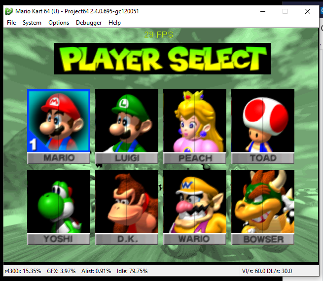 Mario Kart 64 Texture Enhancements