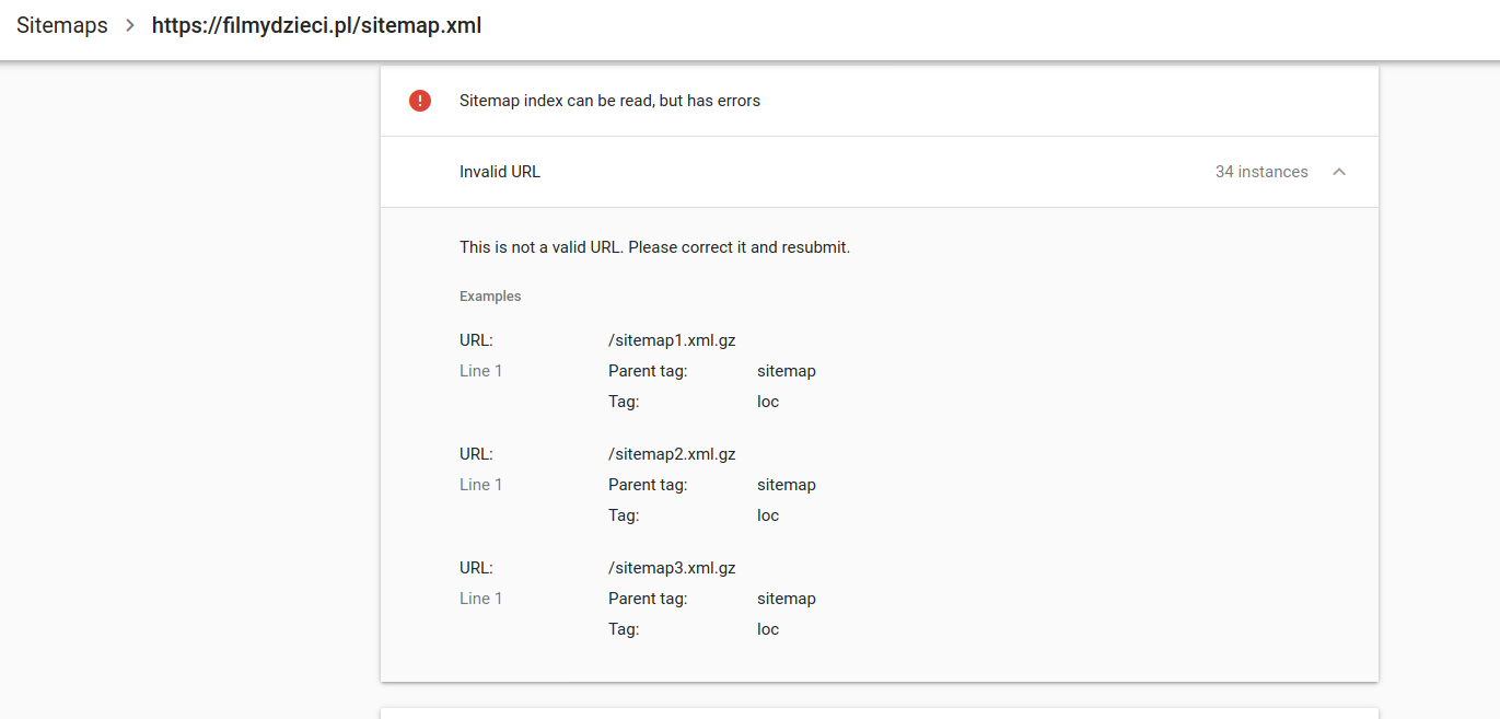 Google Bot can't index files from sitemap.xml · Issue 10 ...