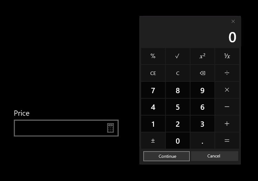 Proposal: NumberBox control · Issue #483 · microsoft/microsoft-ui