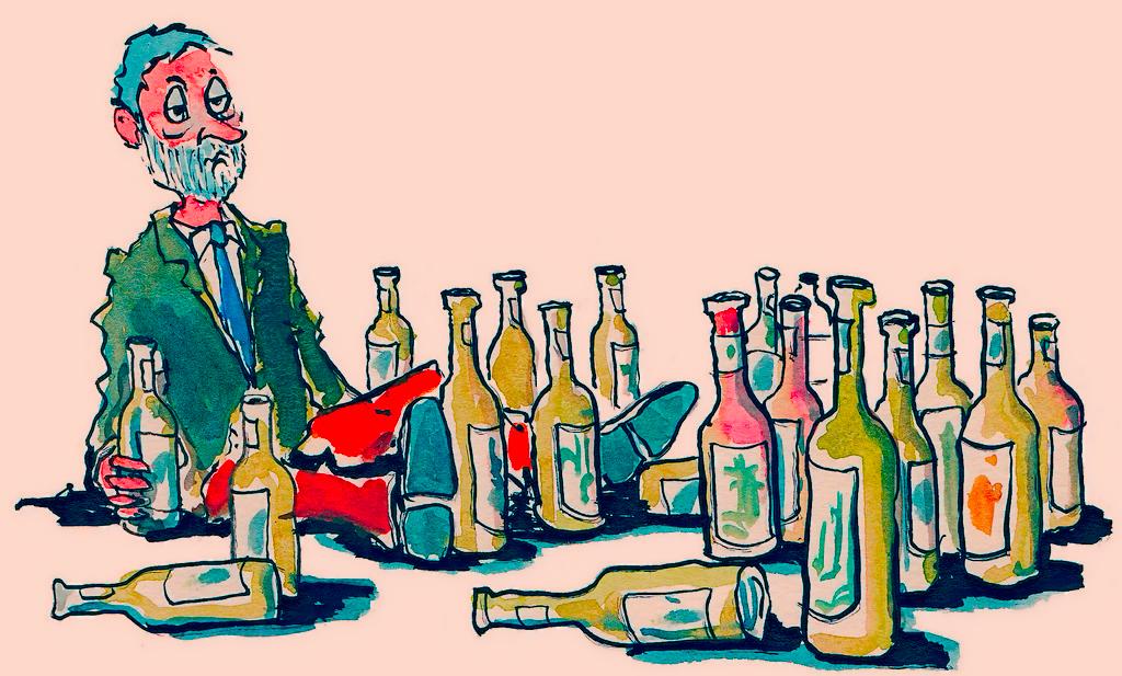 Детские картинки о алкоголем
