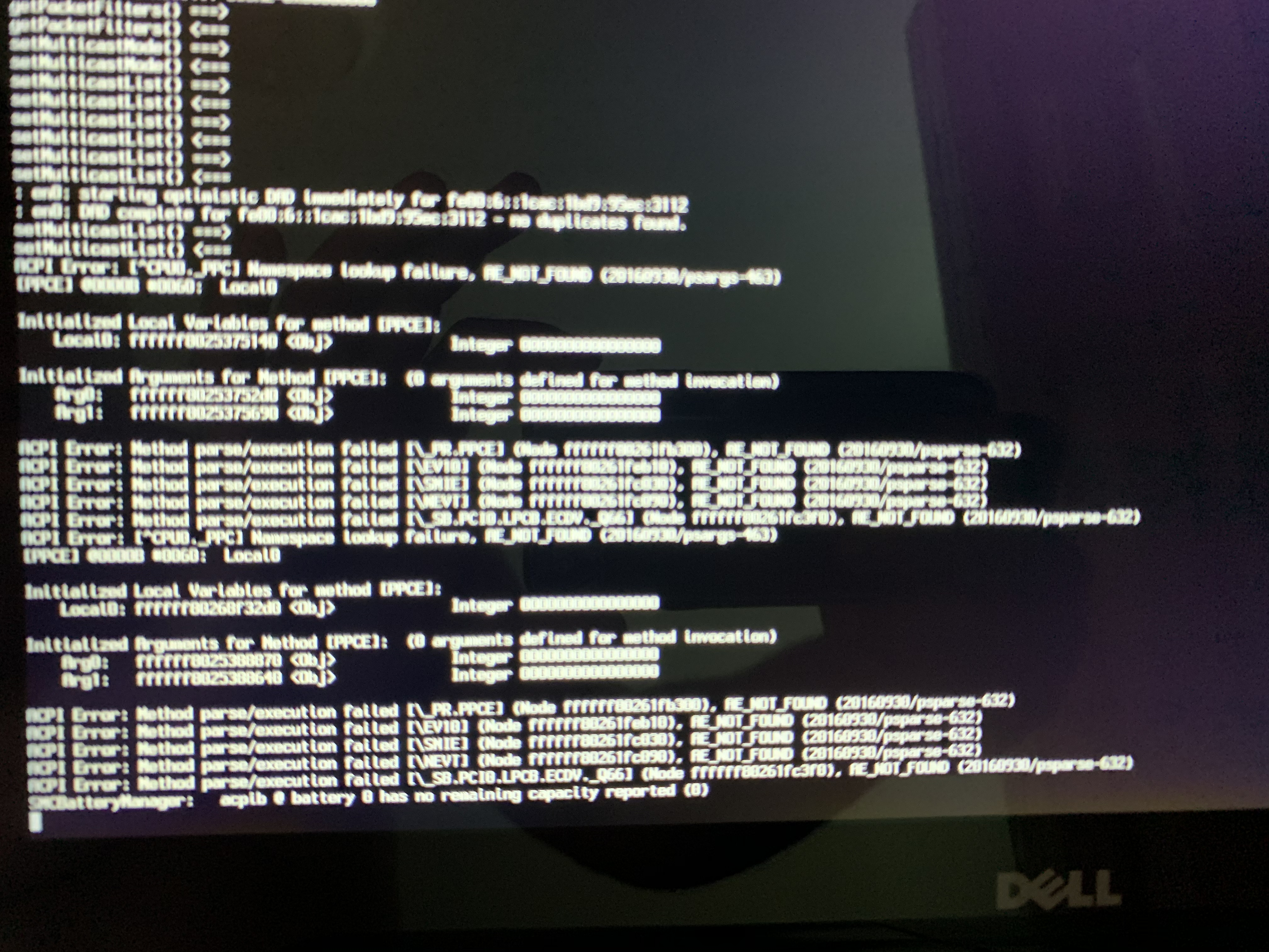 unable to run this on a E7440 I7 4600U · Issue #19 · ameeno