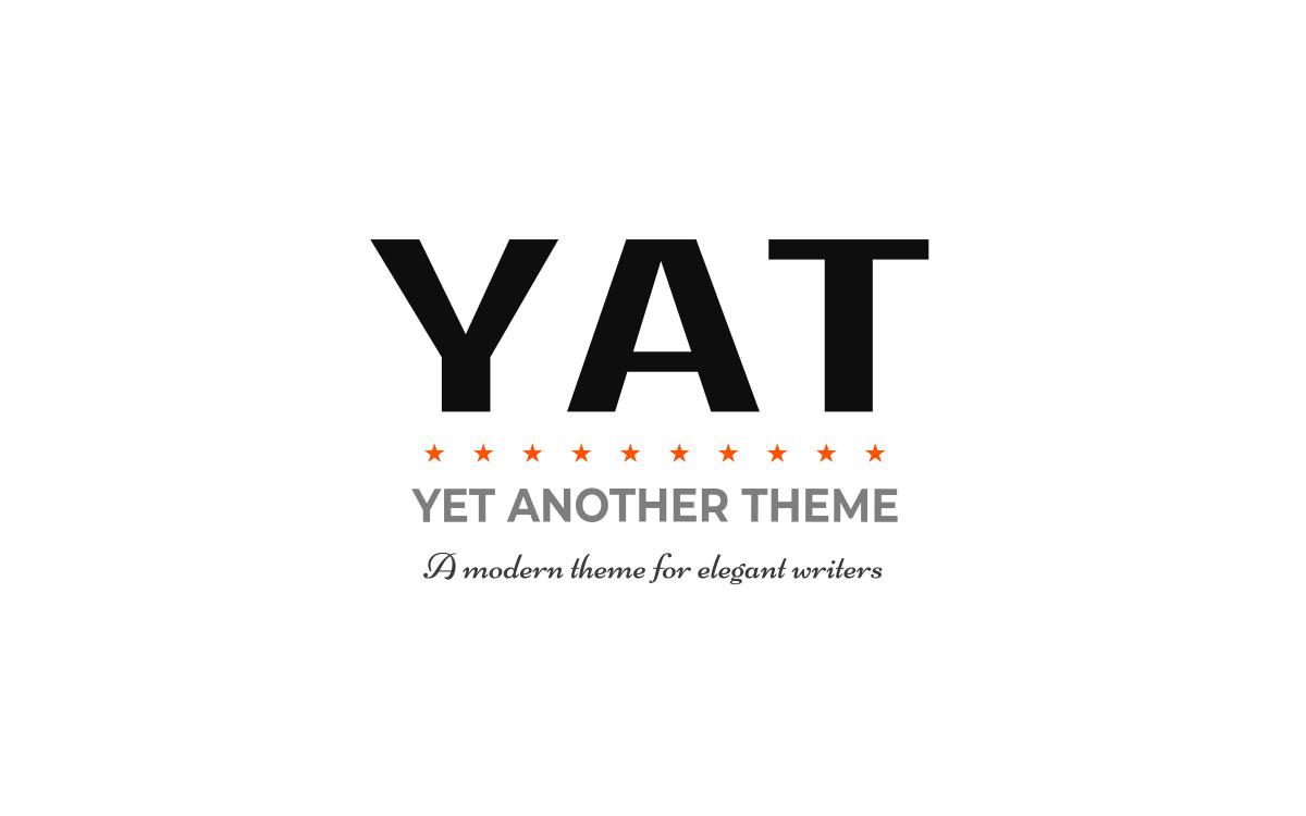 jekyll-theme-yat →~ jekyll