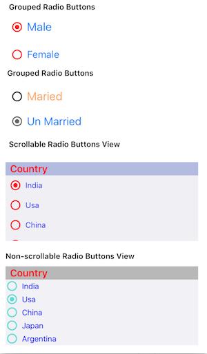 GitHub - VenkateshYadavP/PVRadioButton: Radio Button and
