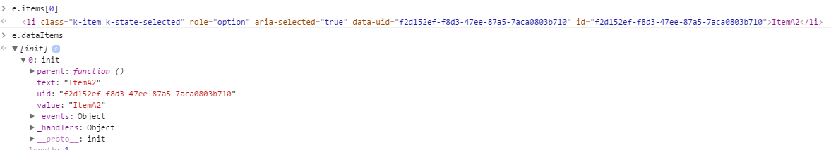 ListBox add event data e items`s type is not Array? · Issue