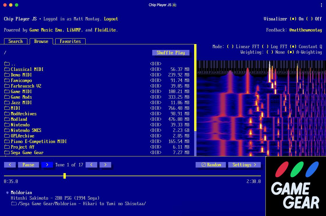 Chip Player JS