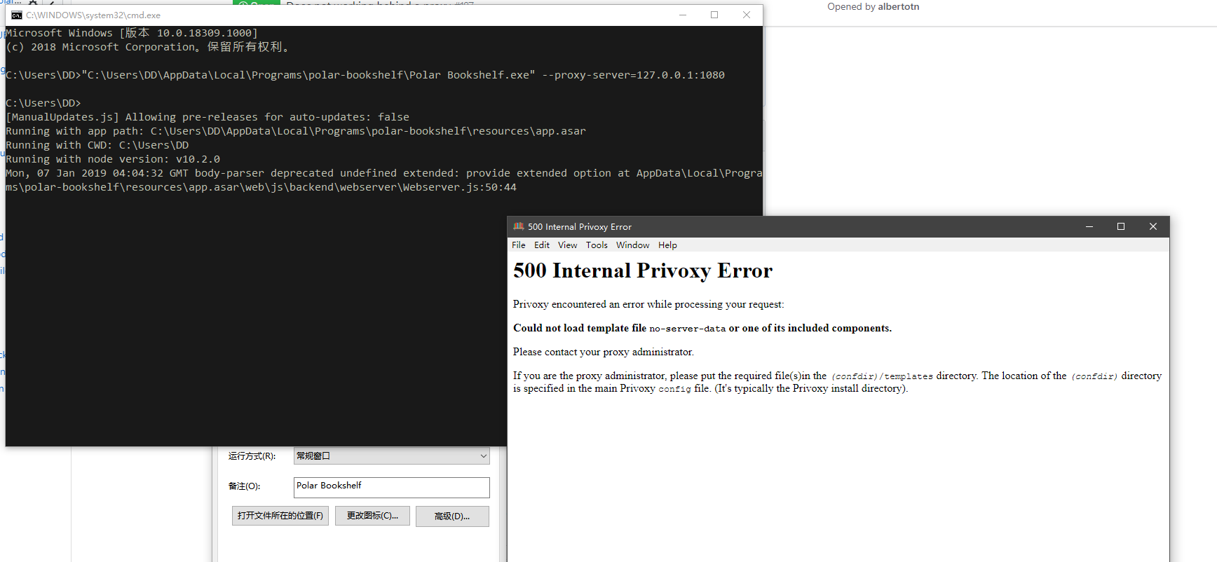 Does not working behind a proxy · Issue #187 · burtonator