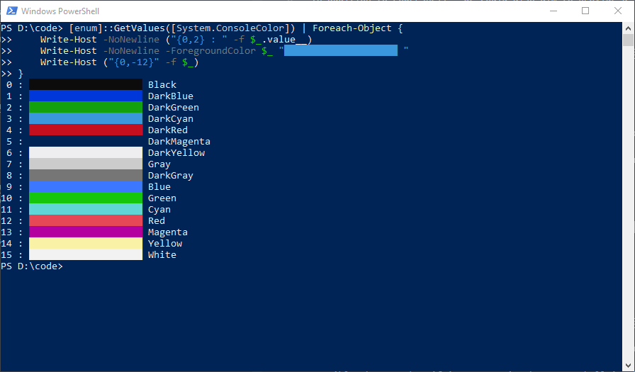 PowerShell Port · Issue #90 · arcticicestudio/nord · GitHub