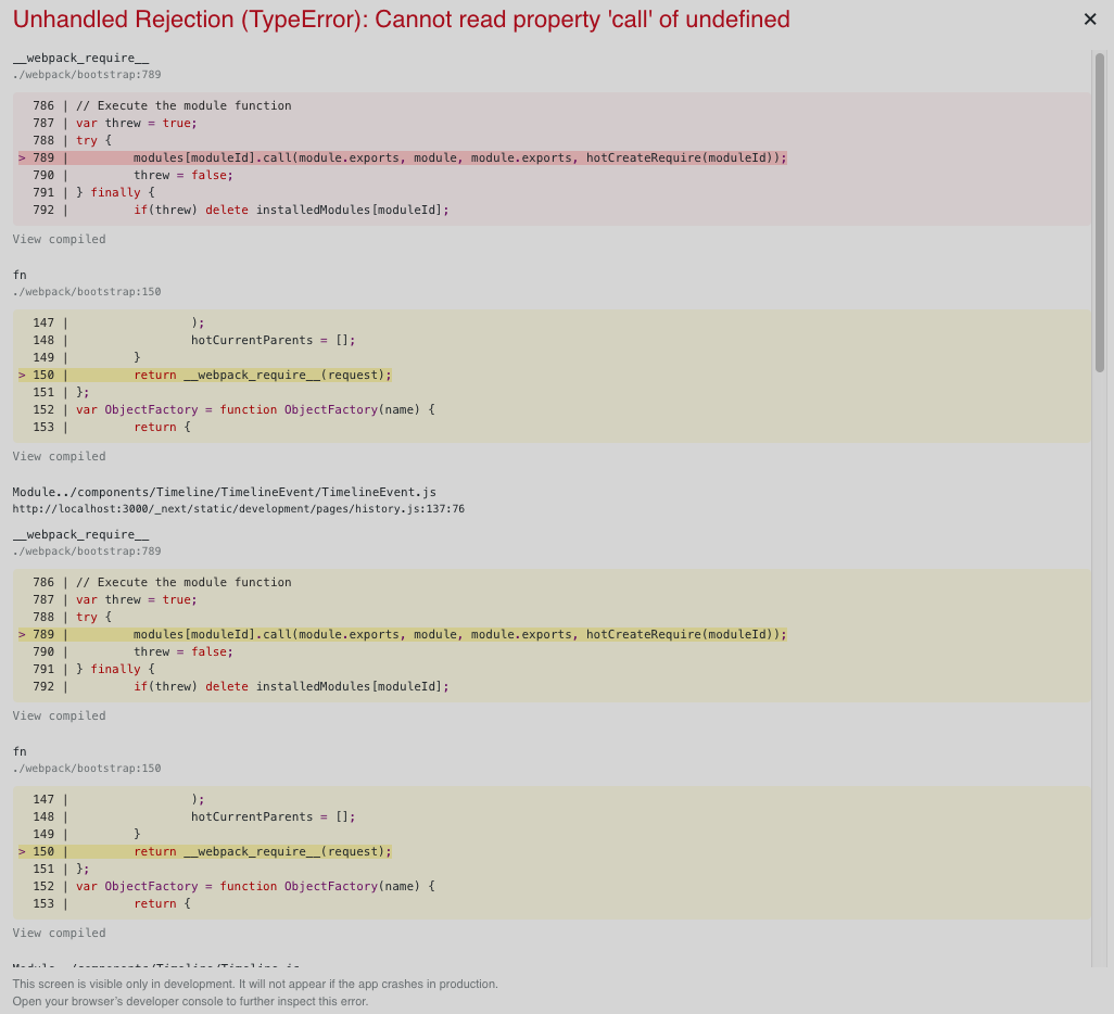Client side navigation is broken after CSS import via withCSS from