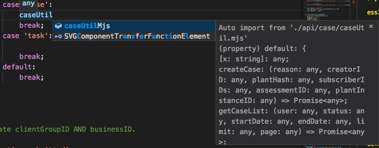 Auto import not working correctly · Issue #42744 · microsoft/vscode