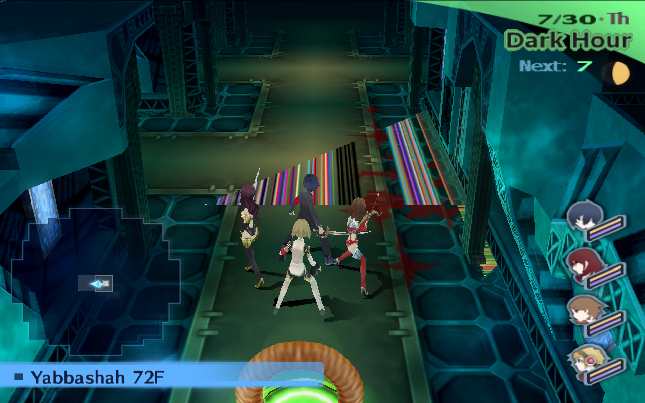 GSDX Half-Pixel Offset Causes Texture Corruption in Persona