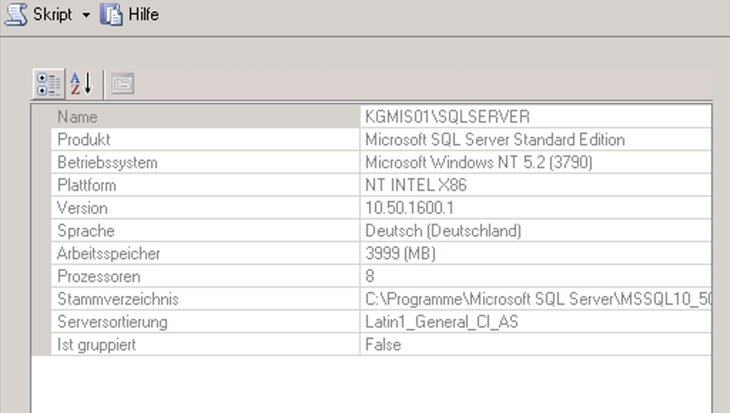 No connection to SQL Server 2008 R2 possible · Issue #888