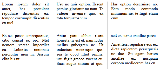 Example for gap-rule-interrupt: continuous;