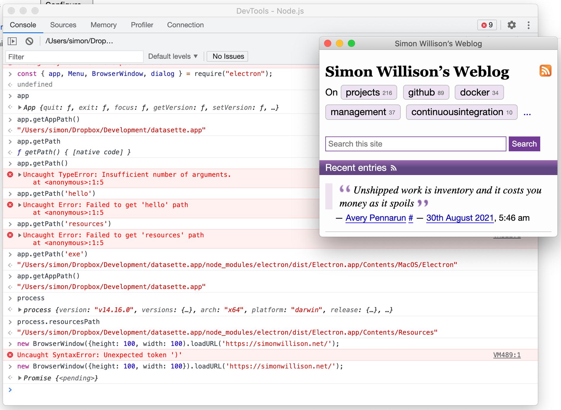 Simon_Willison's_Weblog_and_DevTools_-_Node_js_and_Inspect_with_Chrome_Developer_Tools