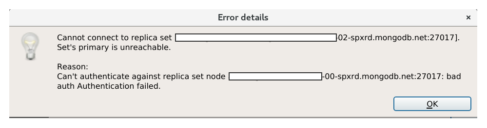 1 0 RC1] Can't connect to replica set to MongoDB Atlas