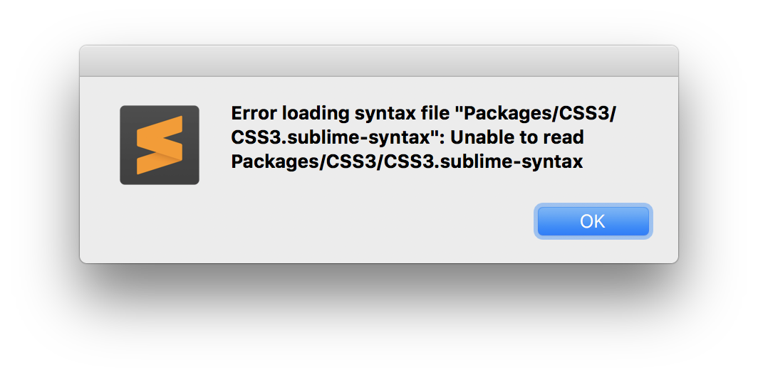 Error loading php syntax · Issue #1665 · sublimehq/Packages · GitHub