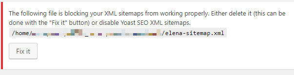 See https://kb.yoast.com/kb/add-external-sitemap-to-index/ In this case, when an external sitemap is uploaded to the server and linked from the sitemap ...