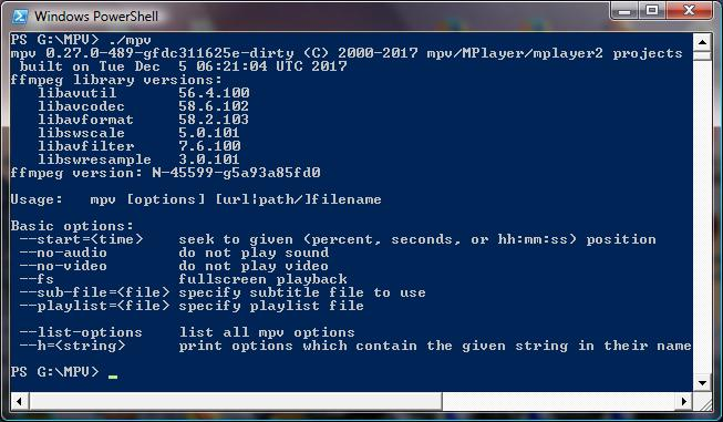 Install Libavcodec Windows