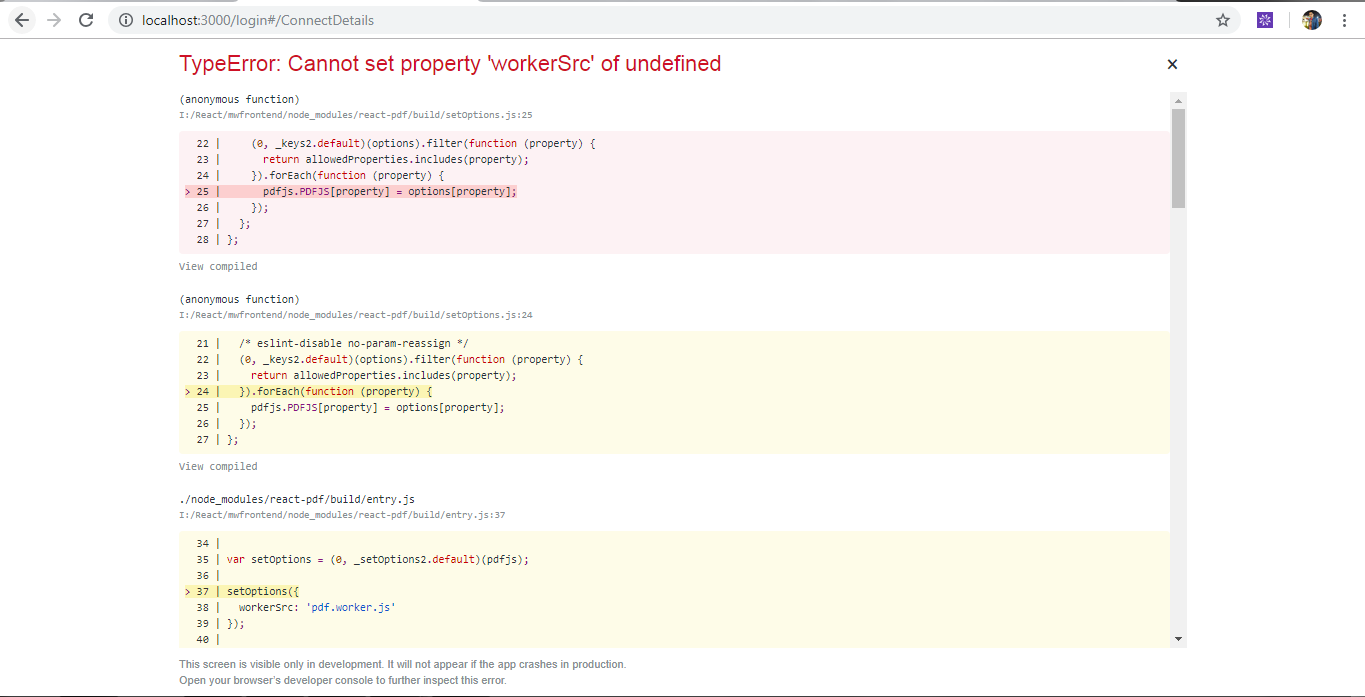 TypeError: Cannot set property 'workerSrc' of undefined