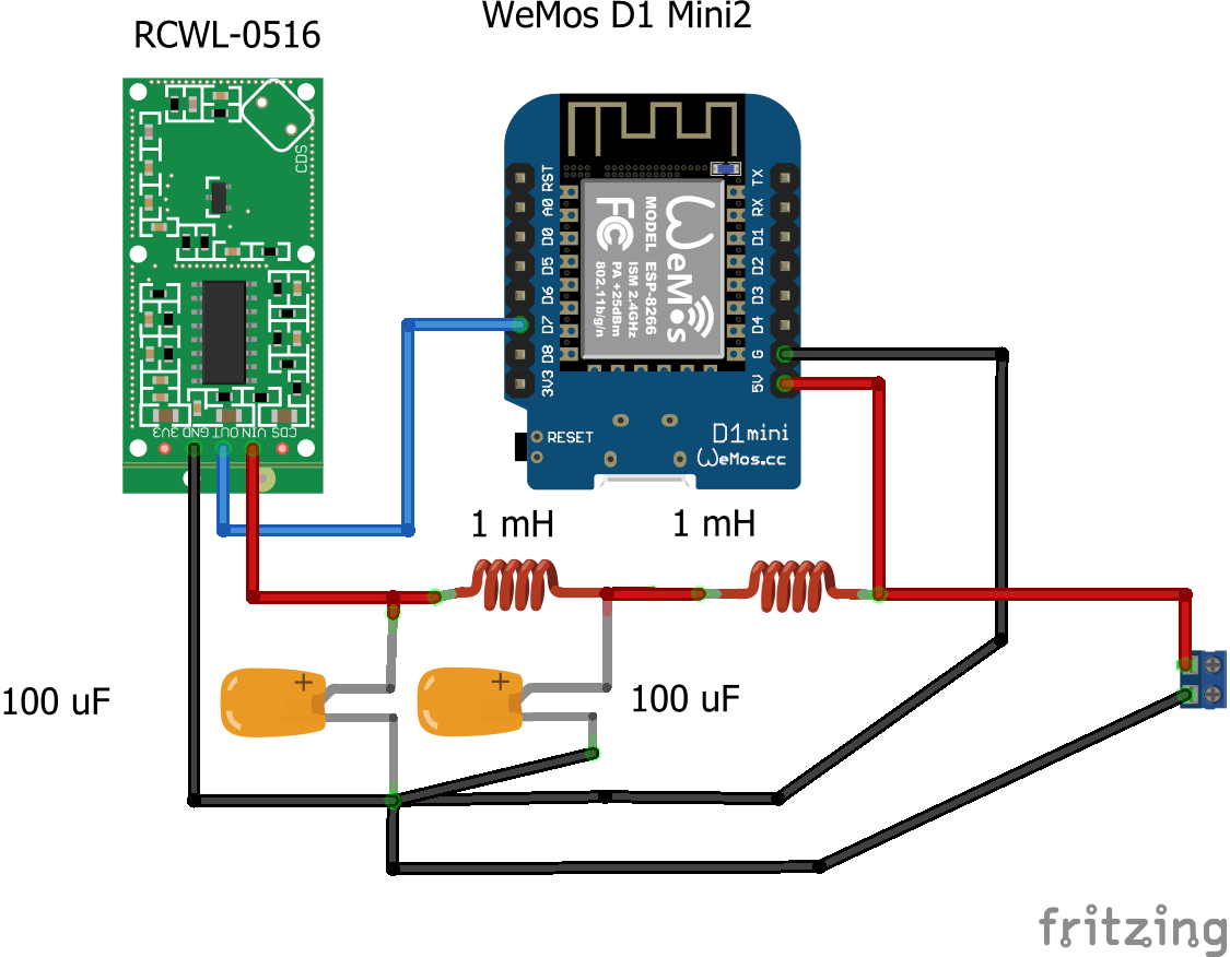 False Triggers Issue 2 Jdesbonnet Rcwl 0516 Github Circuit Rain Detector Switch Using Relay Simple Touch This Showed Considerable Better Results Even With Problematic Modules The L C Combinations Are Probably Not Optimised I Just Took What Had In My