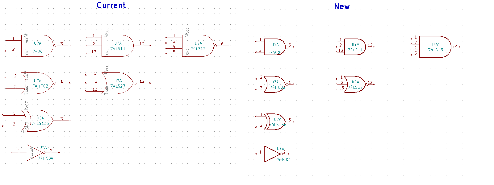 74xx and 74xgxx forced power pins issue 605 kicadkicad image biocorpaavc