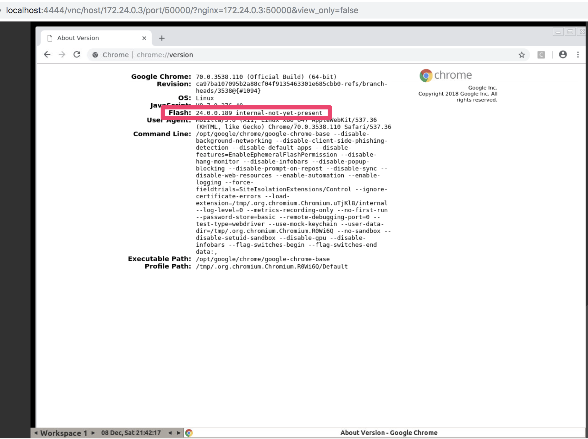 cannot enable Flash by default  neither firefox or chrome