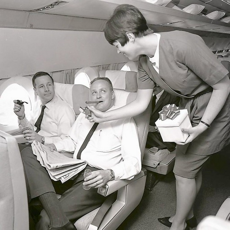 airplane in the 1960s