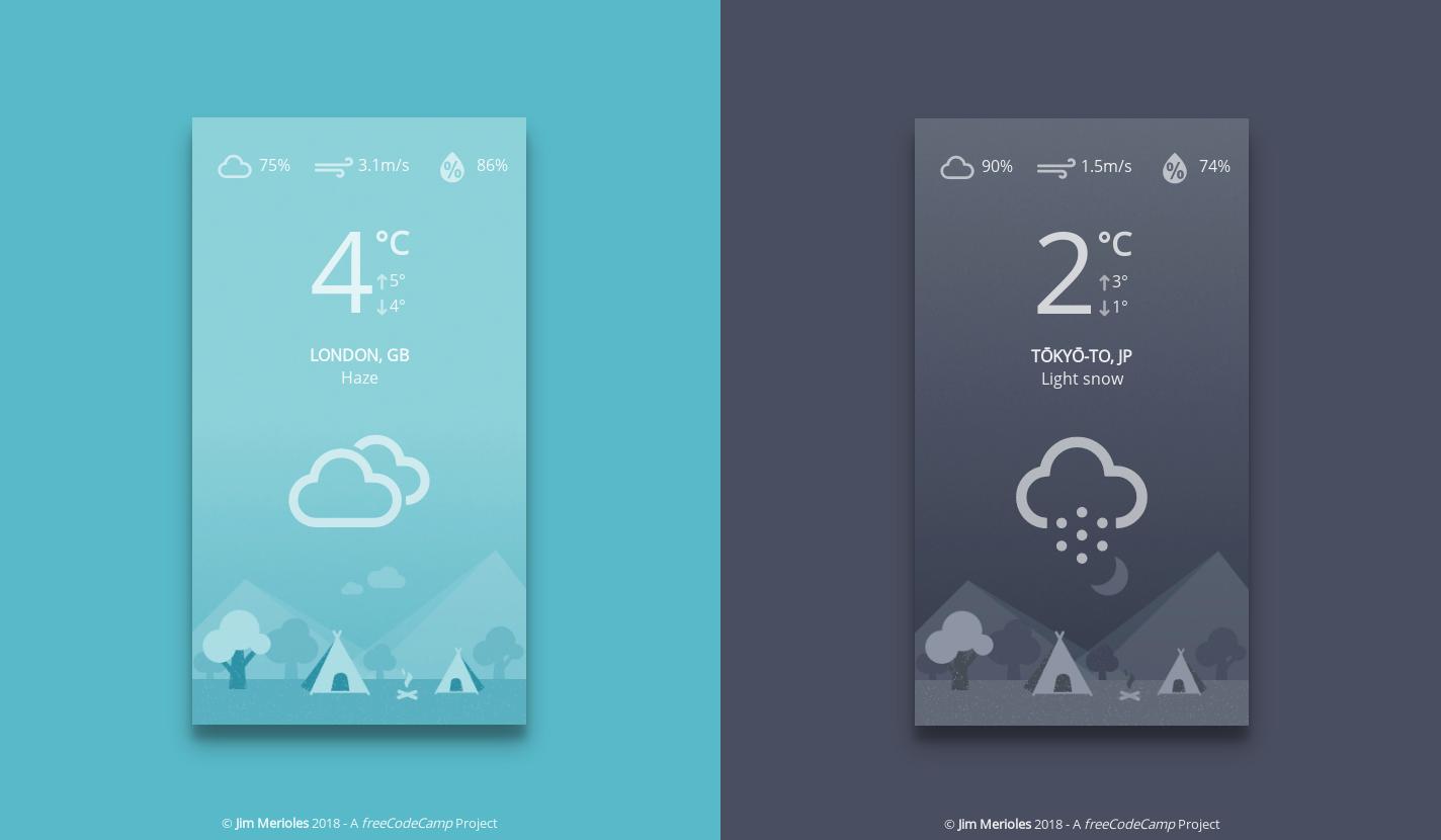 GitHub - jimmerioles/progressive-weather-app: A local