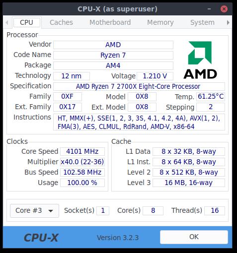 Developers - No temperature report on Ryzen 2700X -