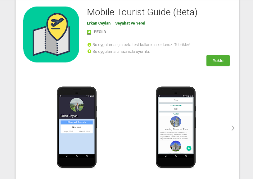 Mobile-Tourist-Guide