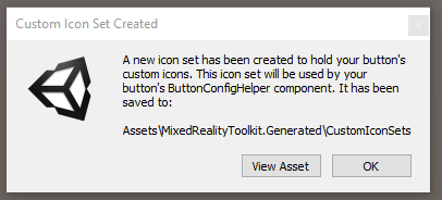 Custom icon notification