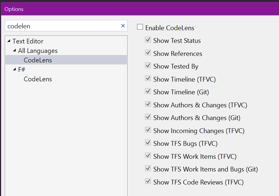 How to disable live code compilation/analysis in Visual Studio 2017