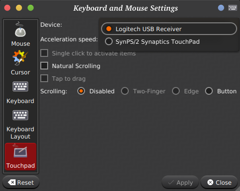 Touchpad Settings (Request) · Issue #405 · lxqt/lxqt-config · GitHub