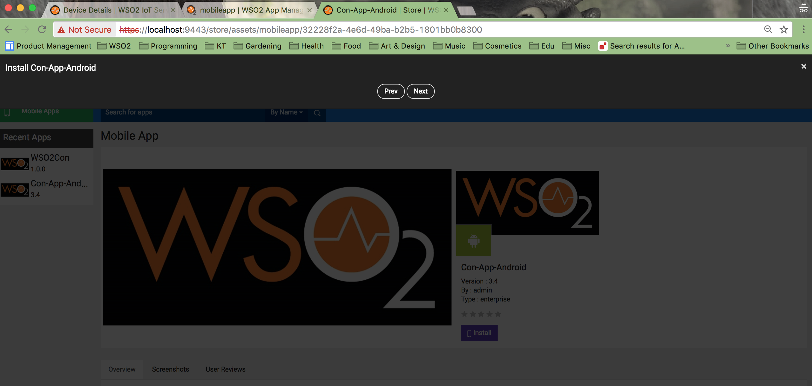 Android App installation cannot be completed · Issue #1222 · wso2