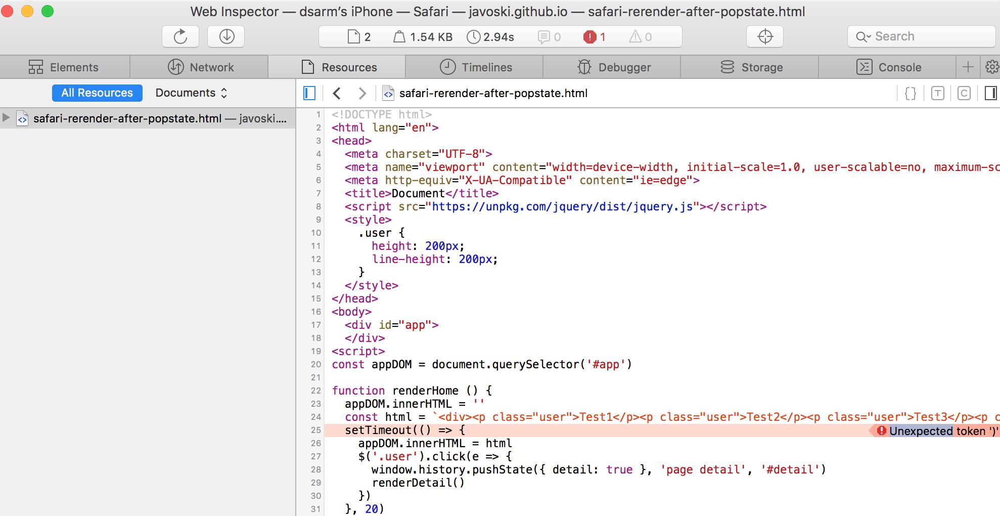 iOS Safari renders blank page · Issue #5533 · vuejs/vue · GitHub