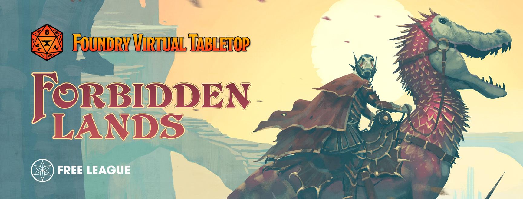 Forbidden Lands Foundry VTT Banner Image