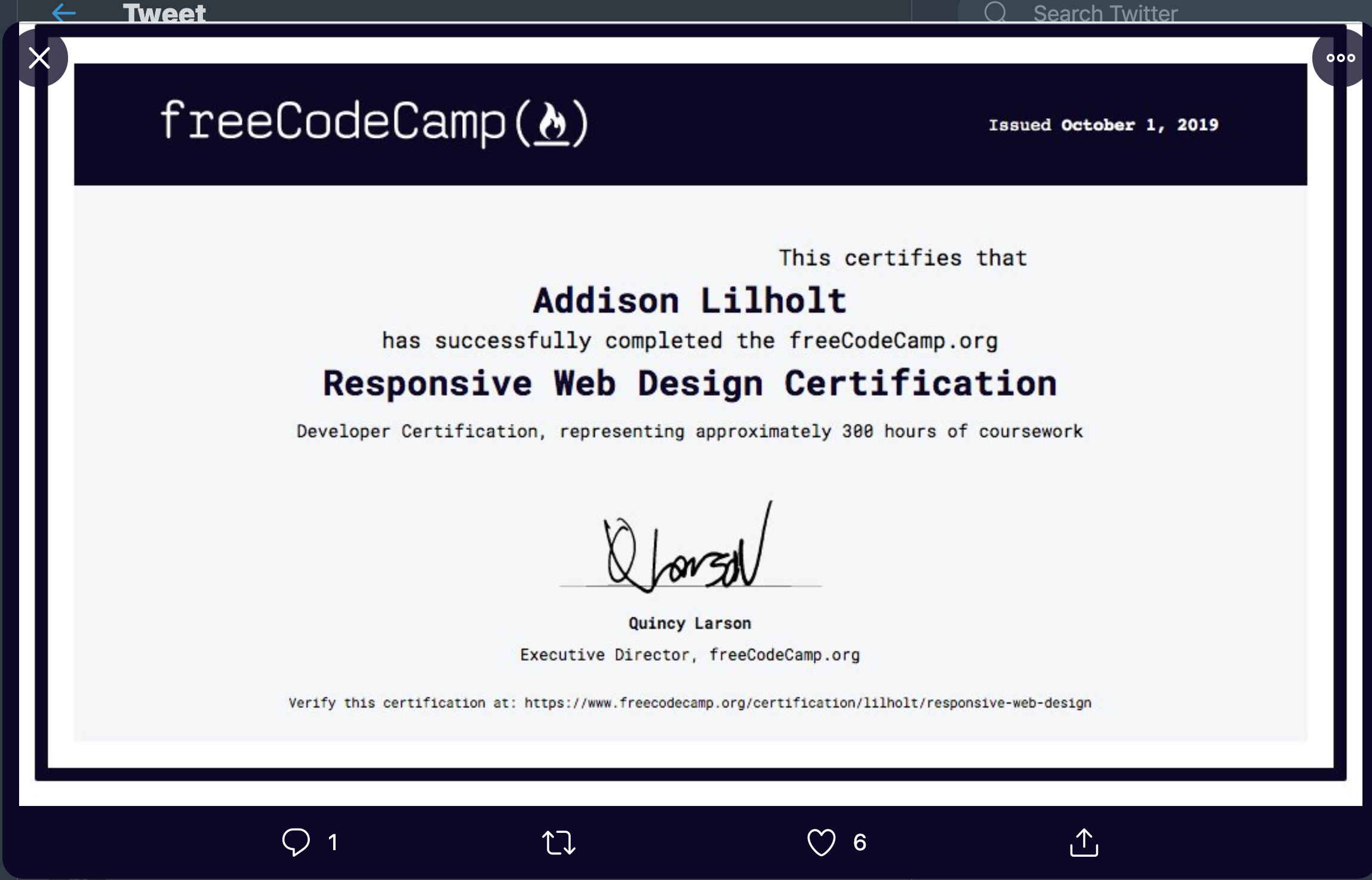 Certifications Look Buggy With New Fonts Issue 37378 Freecodecamp Freecodecamp Github